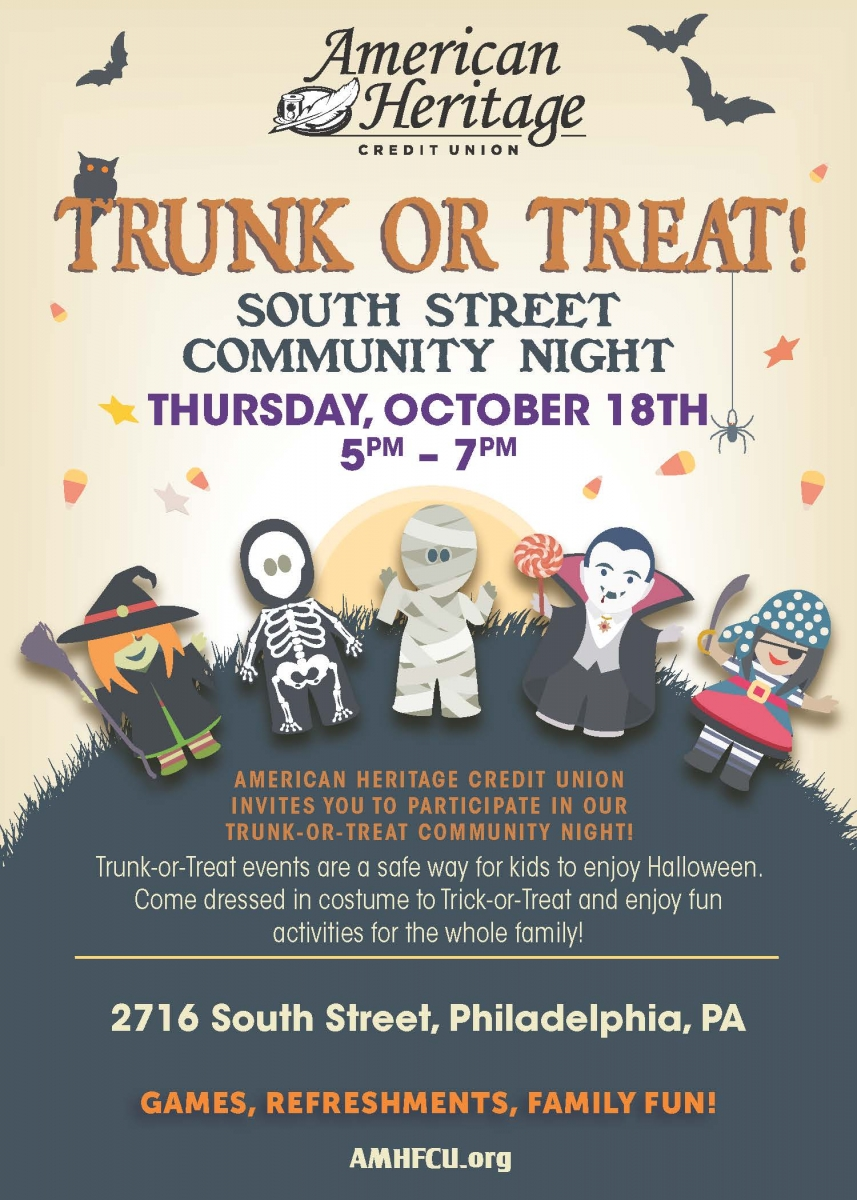 Trunk Or Treat Schuylkill Banks