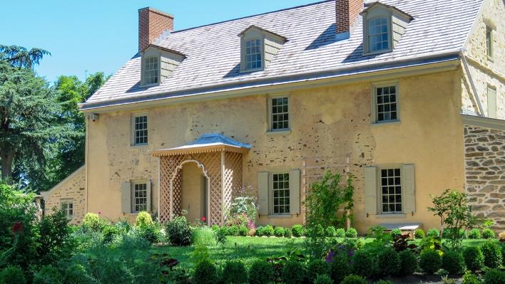Bartram House and Anne Bartram Carr Garden