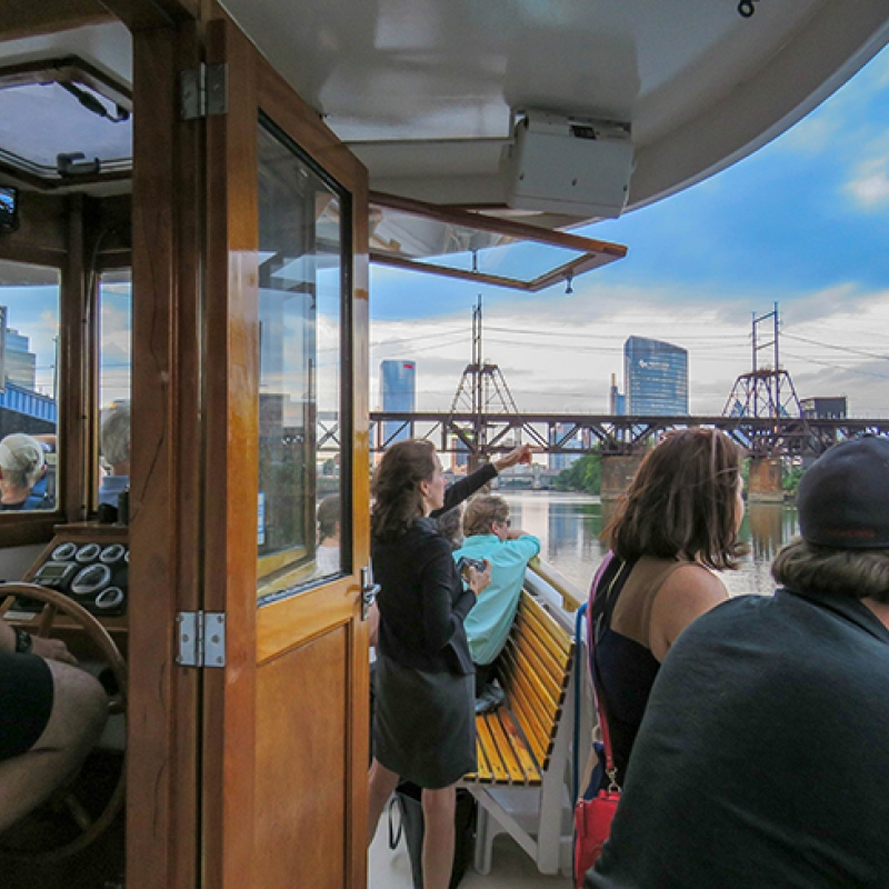 Schuylkill Banks Riverboat Tour