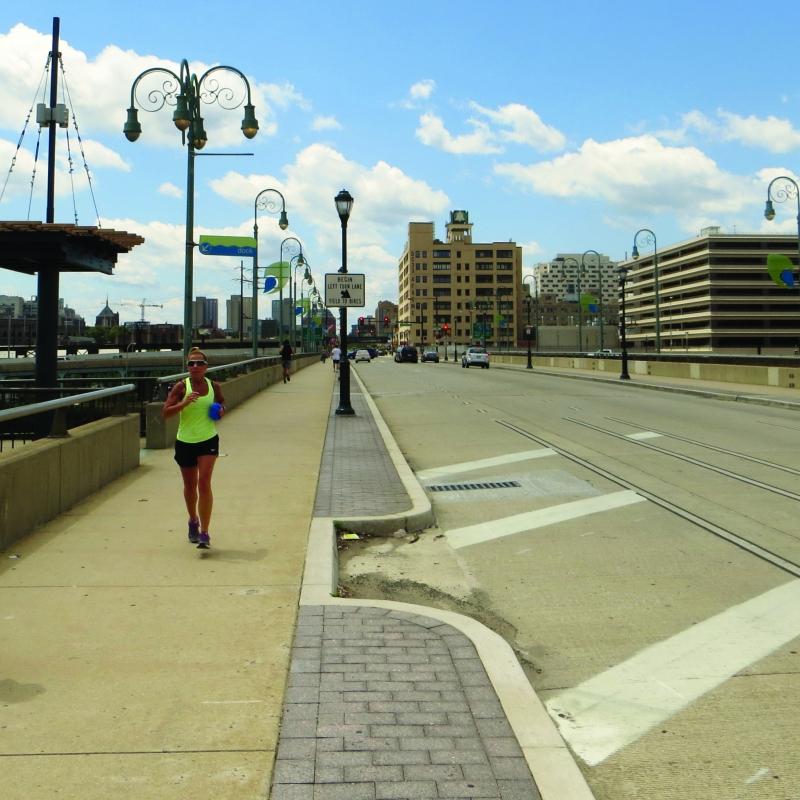 Walnut Street Bridge in Philadelphia PA